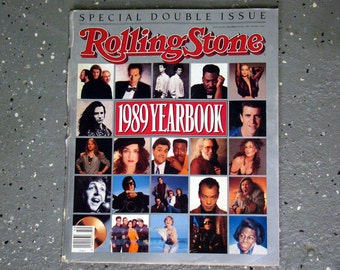 1989 Yearbook - Rolling Stone Magazine Issue# 567/568 - 1989
