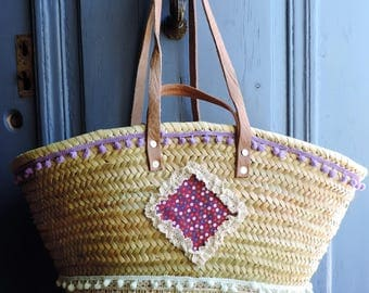 Beach BOHEMIAN, large format, bag beach bag
