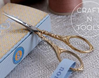 Embroidery Scissors Maison Sajou Peacock Style in 2 models/Sajou Shears/Embroidery Shears/Chenille Scissors/Knitters Scissors/Beading