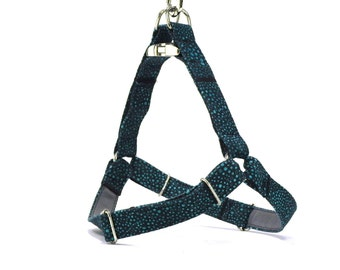 Blue Dog Harness, Step in Dog Harness, Easy to Put, Bubble