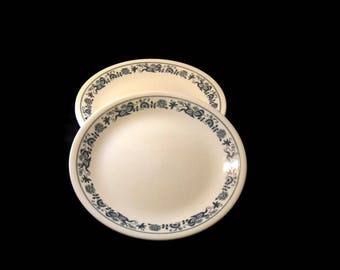 Vintage Old Towne Blue Corelle Plates, Dinner Plates, Vintage Corelle, Vintage Plate, Collectible Plates, Corelle Dinner Plates, Replacement