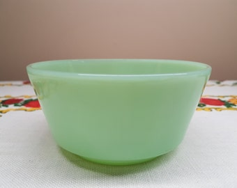 RARE Fire King Jadeite Straight Sided Bowl, 5 Inches