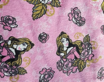 Disney Sleeping Beauty Flannel Fabric Aurora