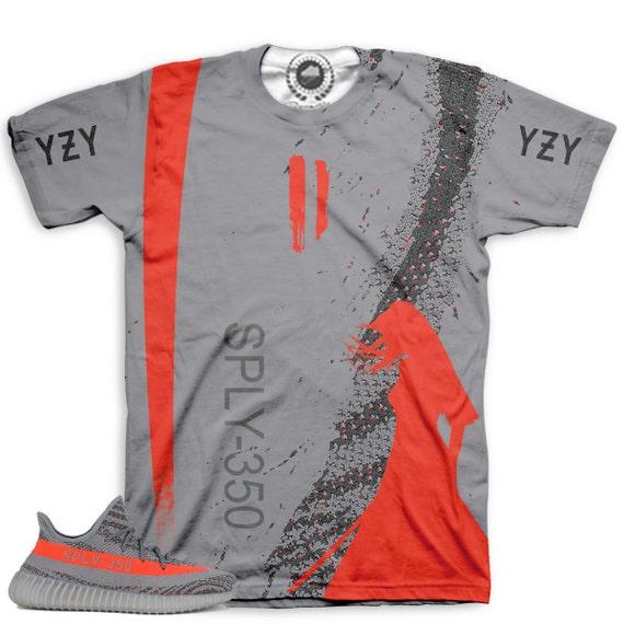 Yeezy Boost 350 V2 Beluga Sneaker Match T Shirt By Chef V2