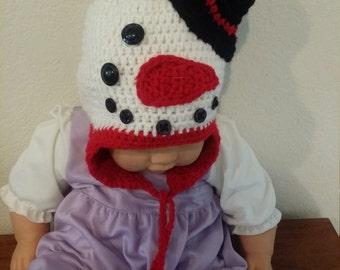 Baby  Crochet  Christmas  hat.
