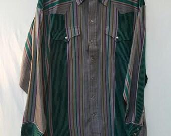 Vintage Western Panhandle Slim Shirt