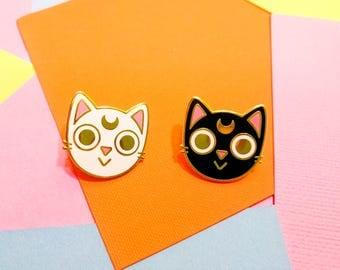 Moon Kitties Hard Enamel Pin