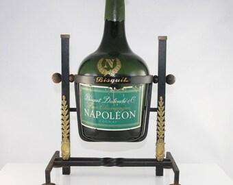 Vintage bisquit dubouche cognac tilting stand