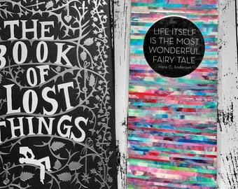 Life is a Fairy Tale Handmade Bookmark