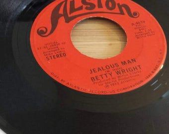 Betty Wright Jealous Man Let Me Be Your Love 1973 Alston  Records Vinyl Soul Funk 70s uk