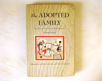 The Adopted Family, Two Book Boxed Set, Florence Rondell & Ruth Michaels, 1967, Vintage Adoption Books