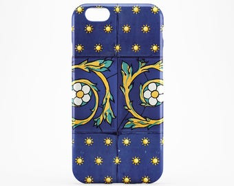 Blue Marble iPhone Case Azulejo iPhone 7 Case Flower iPhone 6 Case Stars iPhone 7 Plus Case iPhone 5 Case Marble Galaxy Case iPhone 6 Plus