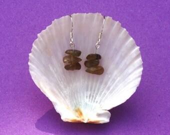 Labradorite earrings. Sterling silver earrings, gemstone earrings, hypoallergenic earrings. Zodiac jewellery, Leo, Scorpio, Sagittarius