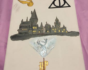 Custom Hand Painted Harry Potter Painting