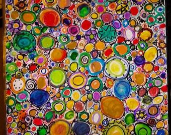 Perfect Circle art piece