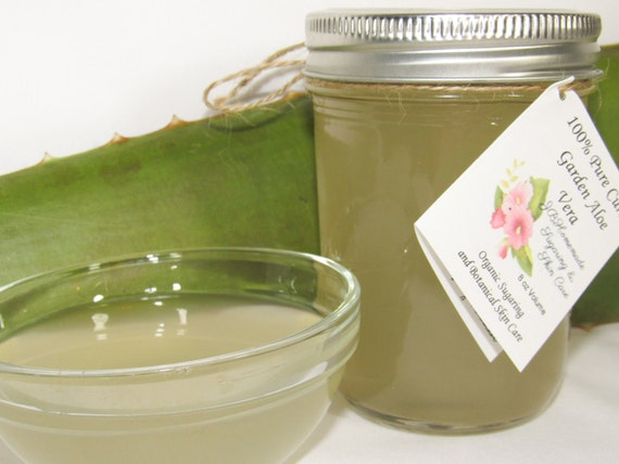 Pure CURED ALOE - 100% Pure Soothing Aloe Vera- 8 Oz
