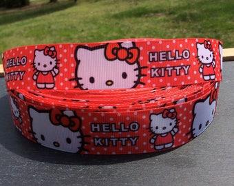 Kitty Ribbon, Hello Kitty Ribbon, Hello Kitty Birthday, Hello Kitty Bow, Kitty Hair Bow, Kitty Bow