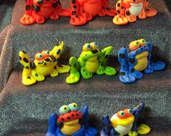 Poison Dart FROGS Miniatures!