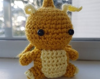 Dragonair Amigurumi Pattern : Cute dragonite Etsy