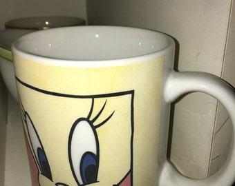 Vintage tweety cup