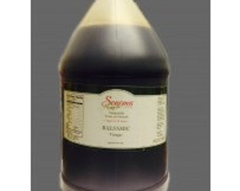 Balsamic Vinegar Traditional Barrel Aged Bulk 1 Gallon / 3.8 Liter / 128oz -Food Service Size-