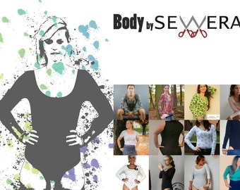 Body sewing pattern & instruction by Sewera