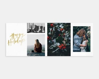 Christmas Facebook Timeline Cover Photoshop Marketing Template for Photographers - Facebook Cover-Facebook Timeline-Christmas Marketing Kit