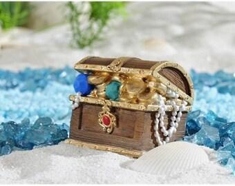 Fairy Garden  - Sea Life Treasure Chest - Miniature