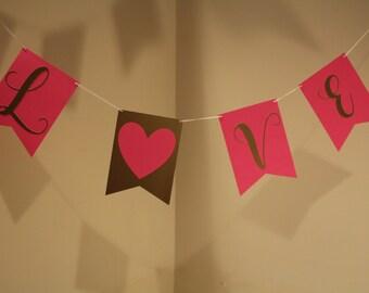 Love Banner, Valentines Day Banner