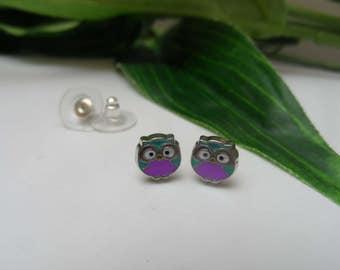 Owl Stud Earrings, girls earrings, Owl earrings, birthday gifts, stud earrings, girls birthday gifts