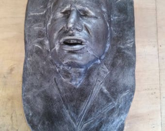 Han solo in carbonite life size bust