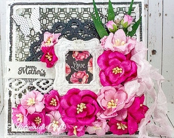 Shabby Chic Happy Mother's Day Card