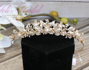 FAST Shipping!!! Butterfly Tiara, Swarovski Tiara with Butterflies, CristalTiara, Wedding Tiara, Crown, Princess Tiara, Quinceañera