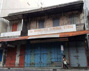 The Blue and Red Store, Port Louis