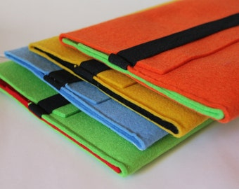 Bicolor cover for tablet or iPad.