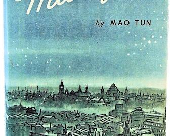 MIDNIGHT Mao Tun Foreign Languages Press Peking Nice Scarce w/Jacket 1979