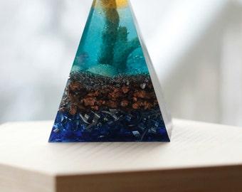 Orgone Pyramid - Coral Reef