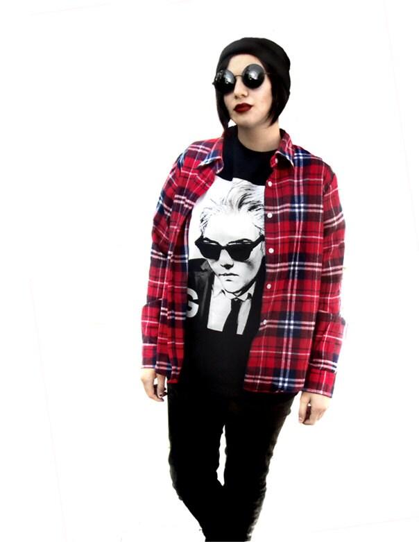 Gerard way medium t shirt unisex adult tee black grunge screen for Adult medium t shirt