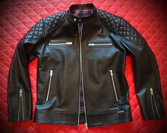 AR-Spider - Men's leather jacket (Free shipping)