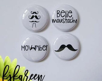 Badge 1 ' - Movember