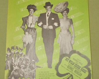 1947 Sheet Music  My Nelly's Blue Eyes from Wild Irish Rose