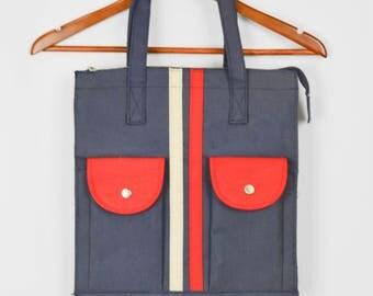 Vintage 70s Bag, Retro Purse, Shoulder Bag, Vintage Purse, Blue, 70s Purse, 70s Accessories, 70s Clothing, 70s Clothes, Vintage Clothing