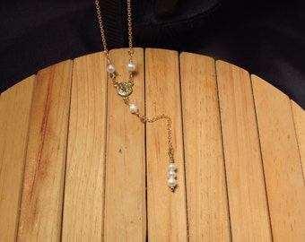 Freshwater Pearl Y Necklace