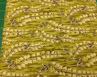 Contessa Court fabric. Sage green leaves vine leaf quilters cotton quilting Blank Textiles 619096125506