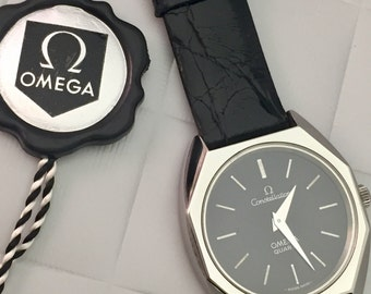 Unisex vintage steel OMEGA constellation
