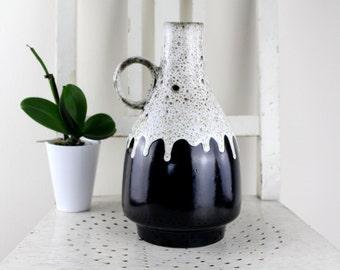 West Germany Vase by Scheurich 832/26 Fat Lava Vase Vintage Pop Art Decor Mid Century Decoration Home Decor 70s vase, flowers pot