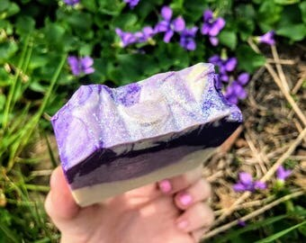 Vegan Purple People Eater Cold Process Soap