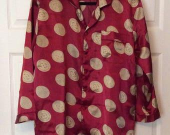 Boho Pure Silk Lounging Pajamas