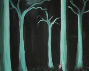 Alien Woods - Painting Print
