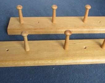 Oak Shaker Peg Rails